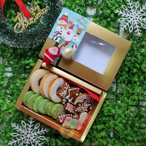 CHRISTMAS ASSORTED COOKIES BOX