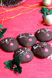 Rudolph cookies( pack of 2)