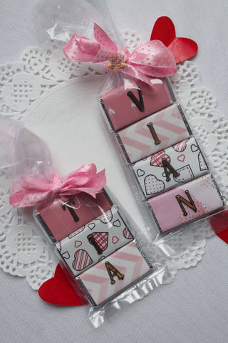 Valentine Mini Name Bars
