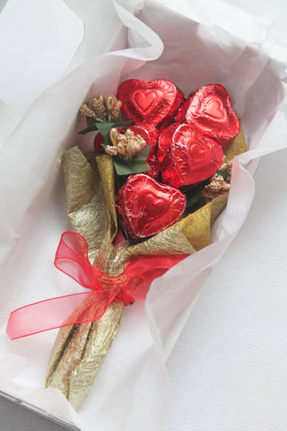 The Rustic Valentine Bouquet