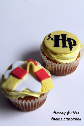 Harry Potter cupcakes (box of 6)