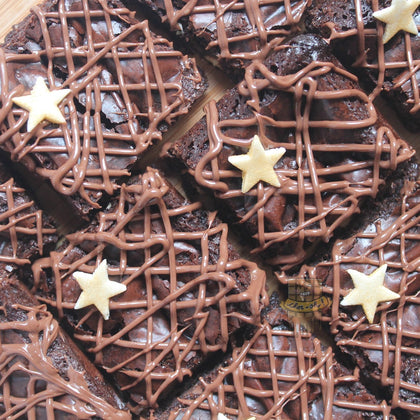 NUTELLA STAR BROWNIES