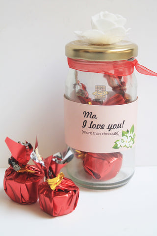 Mother's day candy jar