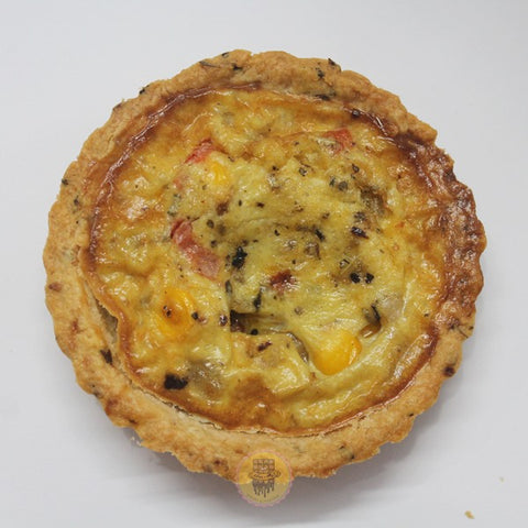 SAVORY EGG QUICHE