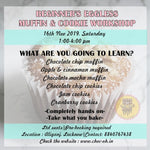MUFFIN & COOKIE WORKSHOP-16th Nov,2019