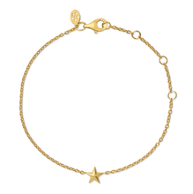 Load image into Gallery viewer, Fine - Star bracelet - solid gold