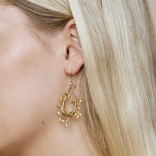 Load image into Gallery viewer, Jungle Ivy earrings show
