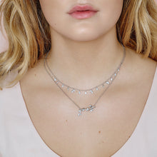 Load image into Gallery viewer, Jungle Ivy sparkle necklace  - silver (Pre-order)