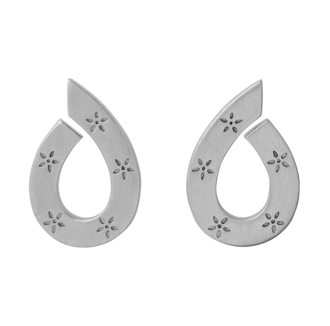 Mini Stella earring - silver