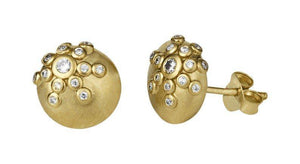 Galaxy earring - gold