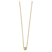 Load image into Gallery viewer, Iris necklace - solid gold