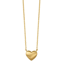 Load image into Gallery viewer, Fine - Heart necklace - solid gold
