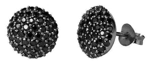 Sparkle earring - black