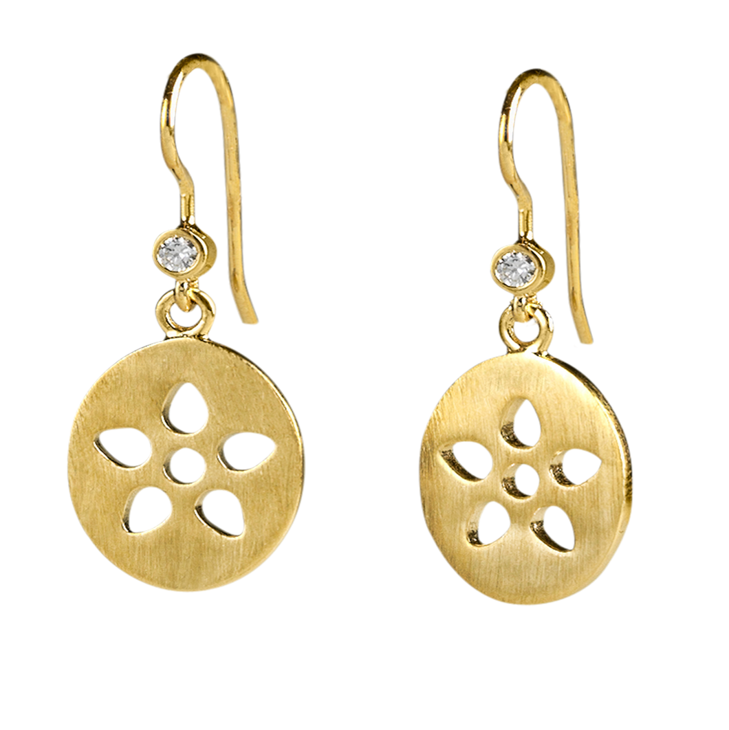 Signature earring - gold