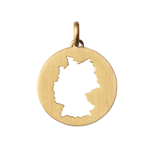 Beautiful Germany pendant - Gold