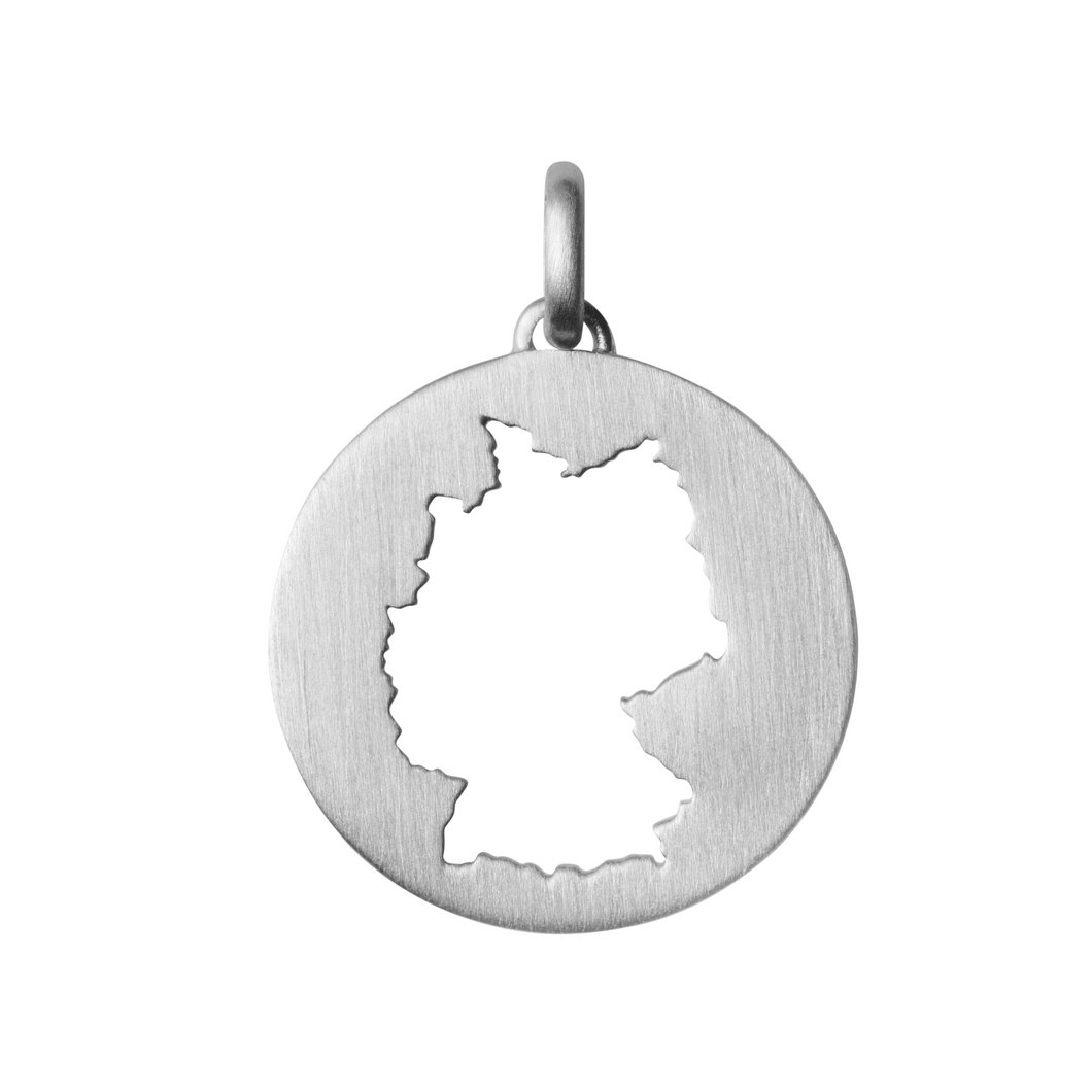 Beautiful Germany pendant - Silver