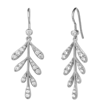 Load image into Gallery viewer, Forest sparkle large earring