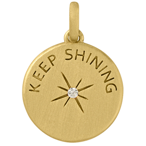 Keep Shining pendant