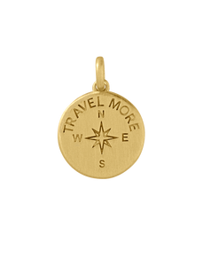 Travel more pendant