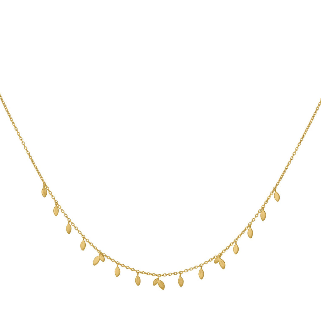 Jungle Vine necklace - gold
