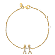 Load image into Gallery viewer, Together You & Me bracelet - gold