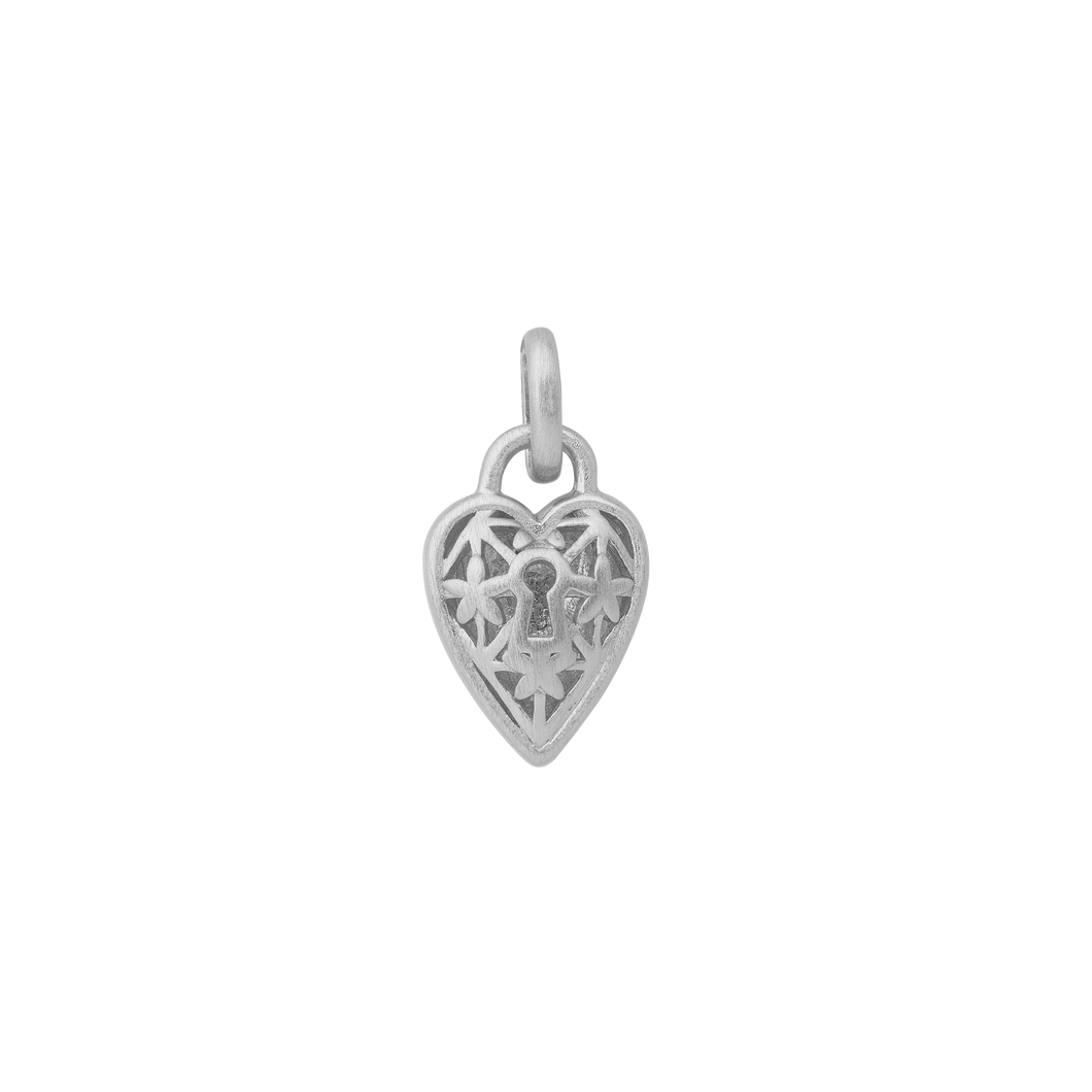 Unlock, The Lock pendant - silver