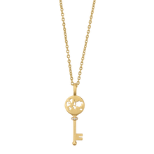 Load image into Gallery viewer, Unlock Adventures necklace - gold