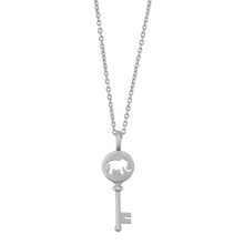 Load image into Gallery viewer, Unlock your Strength pendant - silver