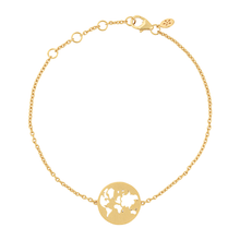 Load image into Gallery viewer, Beautiful World bracelet - solid gold