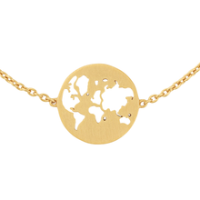 Load image into Gallery viewer, Beautiful World bracelet - gold