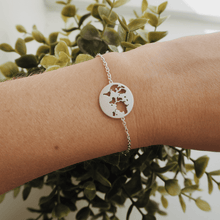 Load image into Gallery viewer, Beautiful World bracelet - silver
