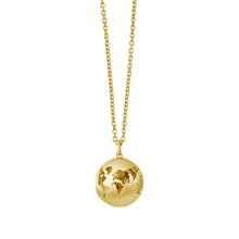 Load image into Gallery viewer, Beautiful World locket - gold