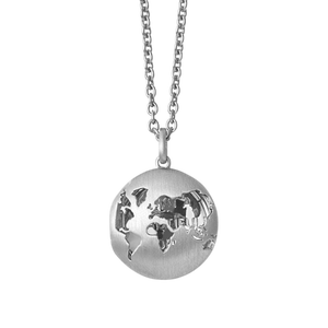 Beautiful World locket - silver