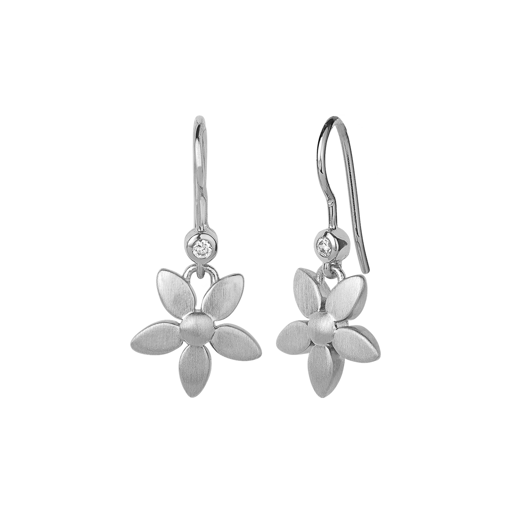 Forget-me-not earring