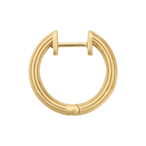 Isla hoops small - gold