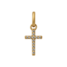 Load image into Gallery viewer, Cross pendant - gold