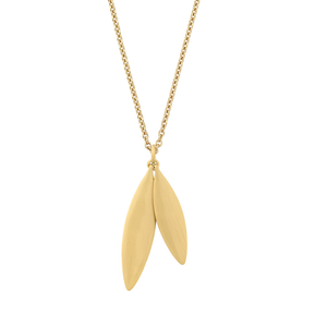 Olive necklace - gold