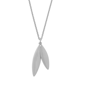 Olive necklace - silver