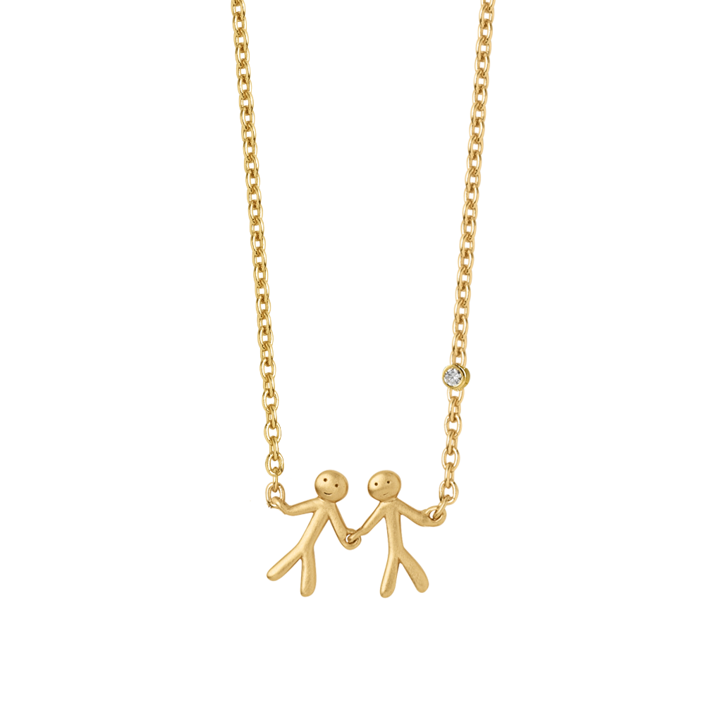 Fine - My Love necklace - solid gold
