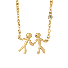 Load image into Gallery viewer, Fine - My Love necklace - solid gold