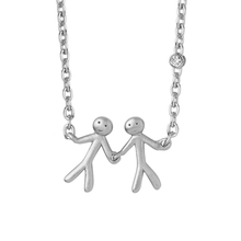 Load image into Gallery viewer, Together My Love necklace - silver