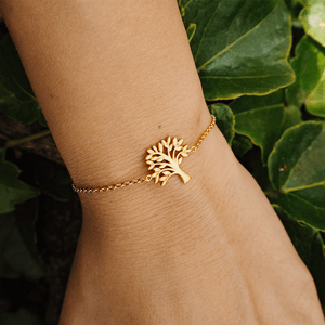 Tree of Life bracelet - gold