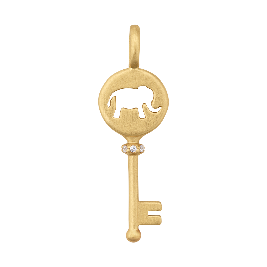 Unlock your Strength pendant - gold