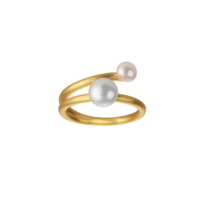 Fine Coco ring - solid gold