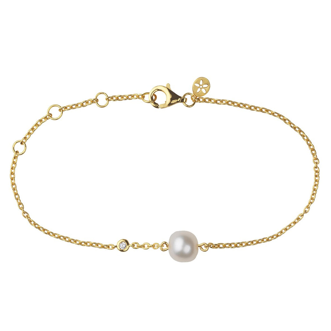 Fine Coco bracelet - solid gold