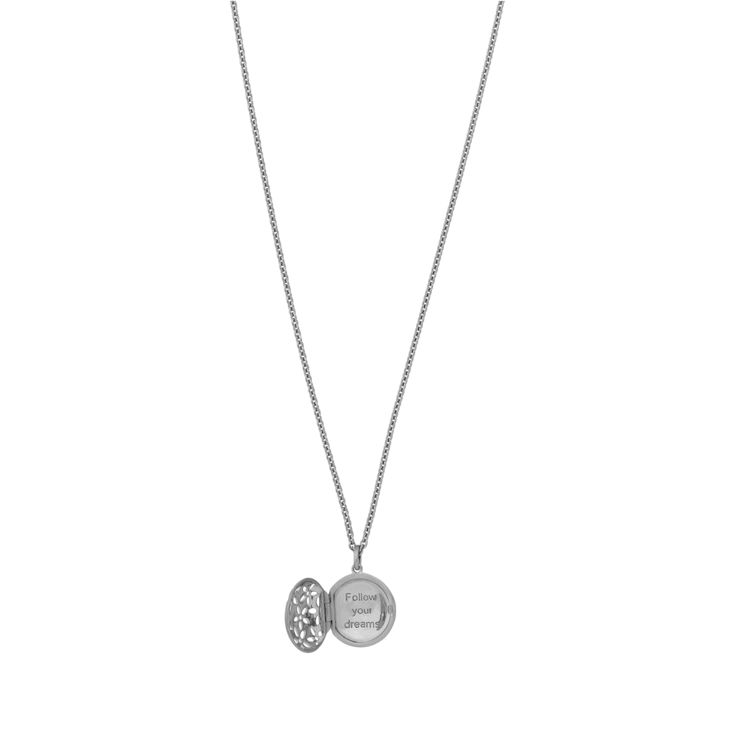 Power necklace - silver