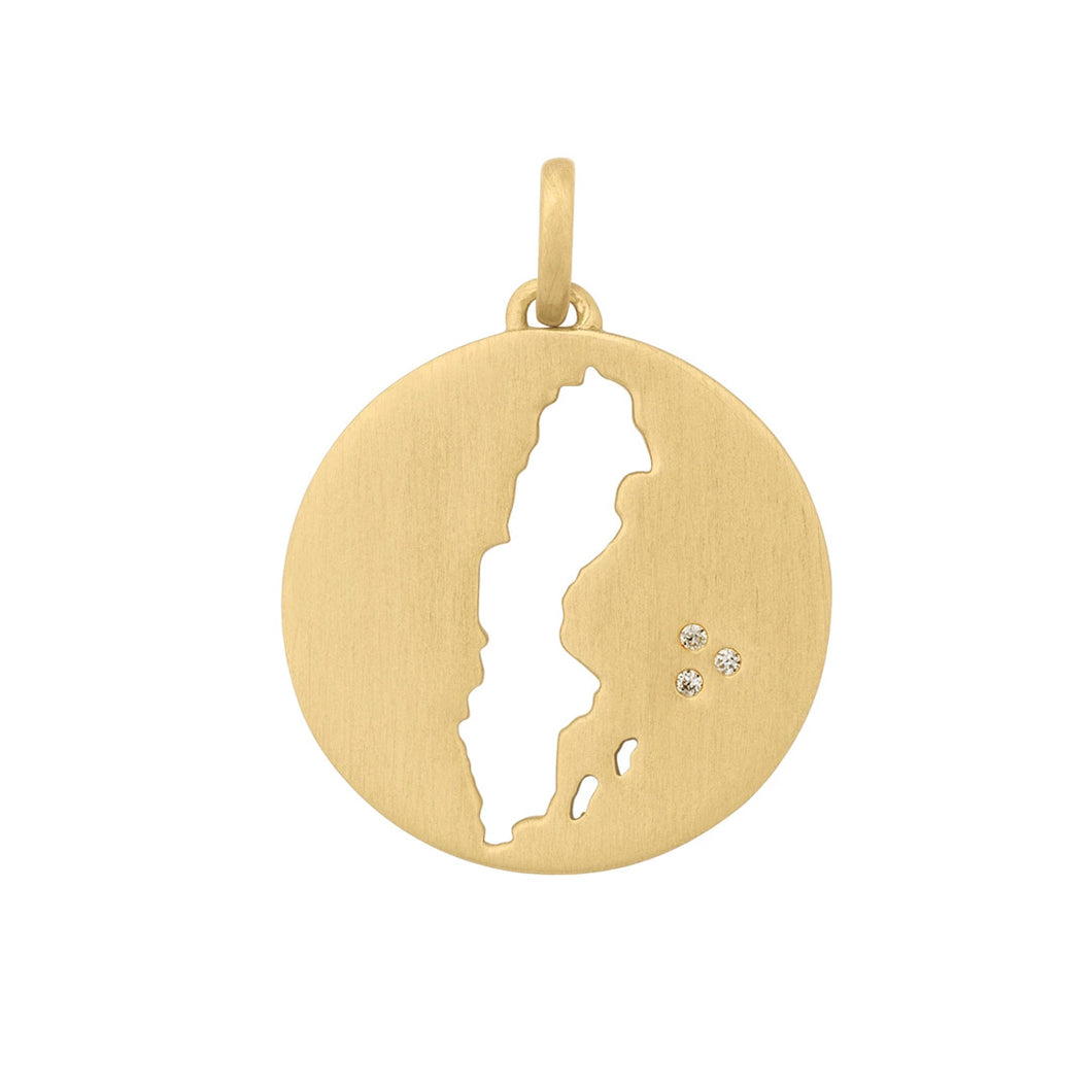 Beautiful Sweden pendant