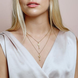 Unlock your Strength necklace - gold