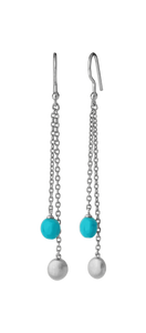 Venus turkis earring duo