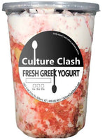 Strawberry Shortcake Greek Yogurt Greek Yogurt Culture Clash Greek Yogurt 32 oz